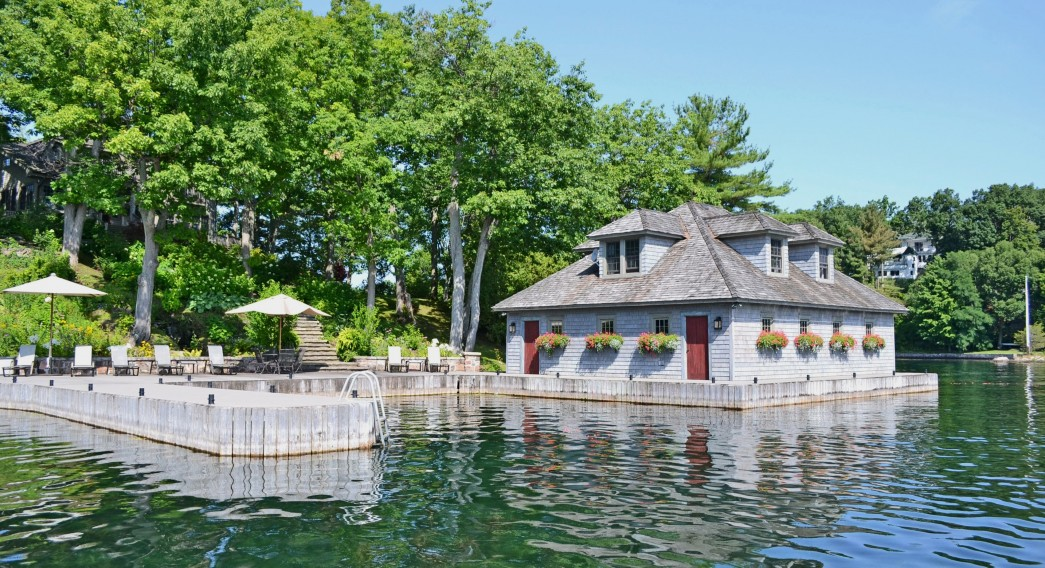 Main Dock and Boathouse