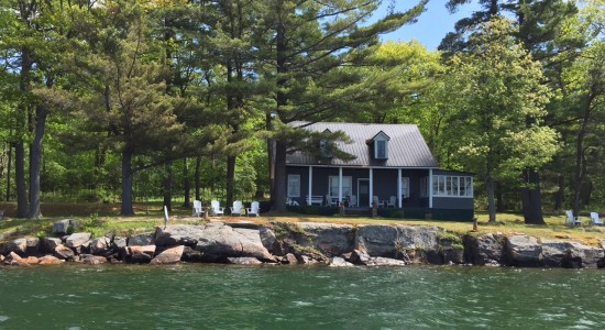 Georgina Ratcliffe, 25/27 Greneier island, The 1000 islands, Main Cotttage
