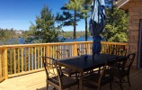 129 Benson Park Road, The 1000 Islands,  Hill Island, 129 Benson Park Road, Hill Island, The 1000 Islands, Georgina Ratcliffe, Dining Deck