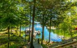 Floating Dock From The Deck