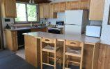 Custom maple Kitchen With Breakfast Bar