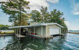 Boathouse with Covered Slips